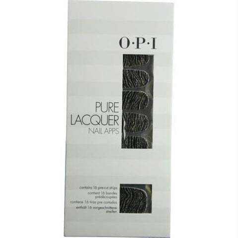 Opi Pure Lacquer Nail Apps--metallic Waves--16 Pre-cut Strips By Opi - AuFreshScents.Com
