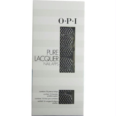 Opi Pure Lacquer Nail Apps--zig Zag Sparkle--16 Pre-cut Strips By Opi - AuFreshScents.Com