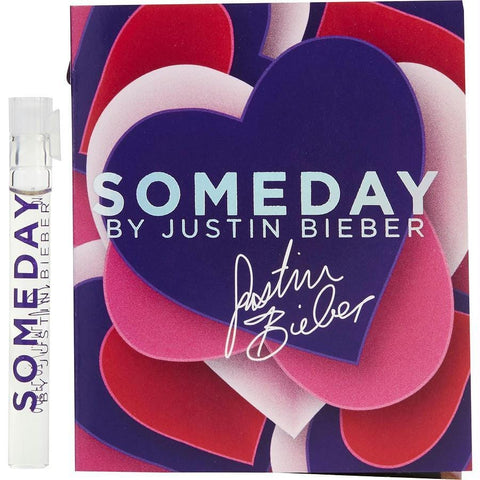 Someday By Justin Bieber By Justin Bieber Eau De Parfum Vial On Card - AuFreshScents.Com