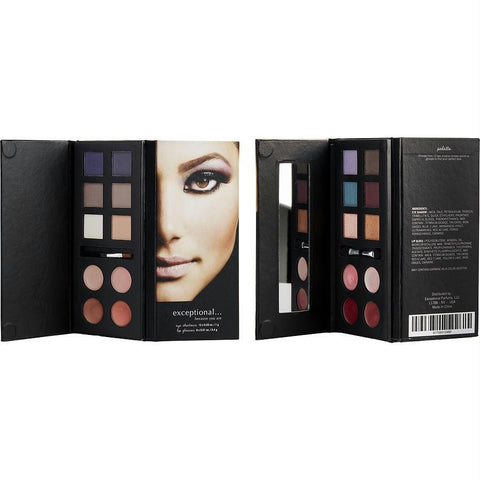 Exceptional Parfums Eyeshadow And Lip Gloss Palette (12 X Eyeshadows, 8 X Lip Glosses) By Exceptional Parfums - AuFreshScents.Com