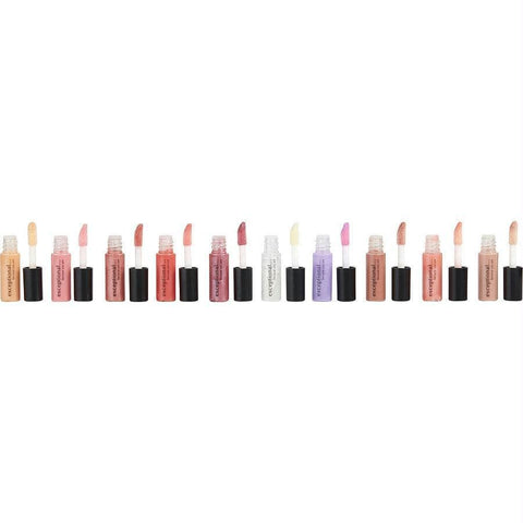Exceptional Parfums 10 Piece Mini Lip Gloss Set Each .04 Oz-1.2 Ml By Exceptional Parfums - AuFreshScents.Com