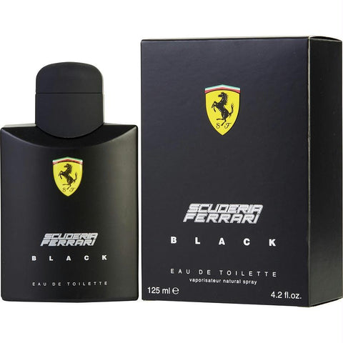 Ferrari Scuderia Black By Ferrari Edt Spray 4.2 Oz - AuFreshScents.Com