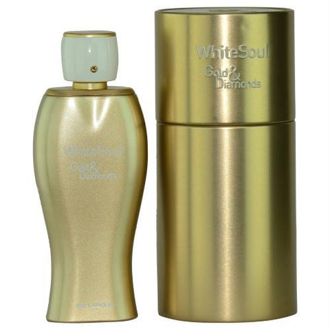 White Soul Gold & Diamonds By Ted Lapidus Eau De Parfum Spray 3.3 Oz - AuFreshScents.Com