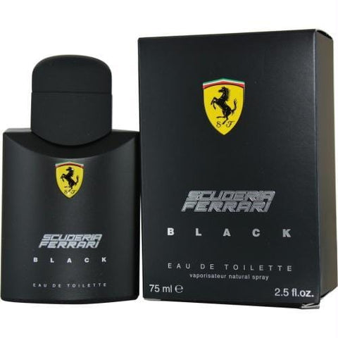 Ferrari Scuderia Black By Ferrari Edt Spray 2.5 Oz - AuFreshScents.Com