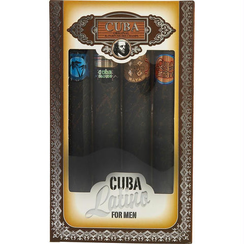 Buy Cuba Gift Set Cuba Latino Variety By Cuba at AuFreshScents.com.com