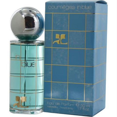 Courreges In Blue By Courreges Eau De Parfum Spray 1.7 Oz - AuFreshScents.Com