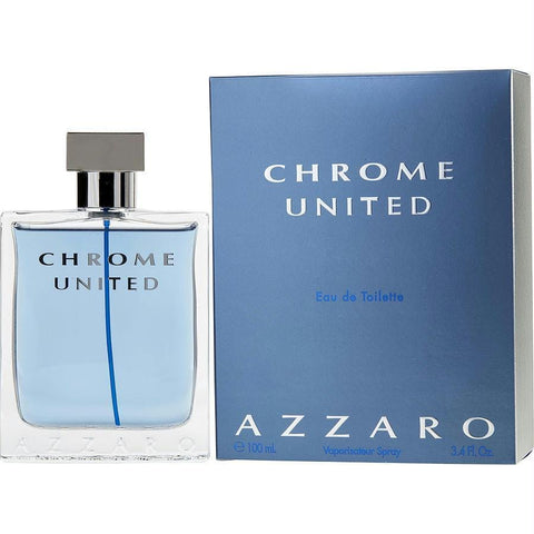 Chrome United By Azzaro Edt Spray 3.4 Oz - AuFreshScents.Com