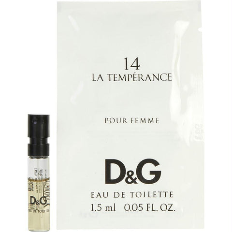 Buy D & G 14 La Temperance By Dolce & Gabbana Edt Spray Vial at AuFreshScents.com.com