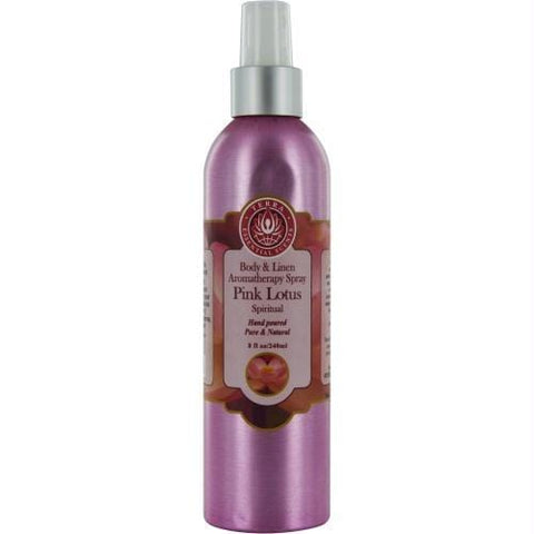 Buy Room & Linen Pink Lotus Spiritual Aromatherapy Spray 8 Oz By Room & Linen at AuFreshScents.com.com
