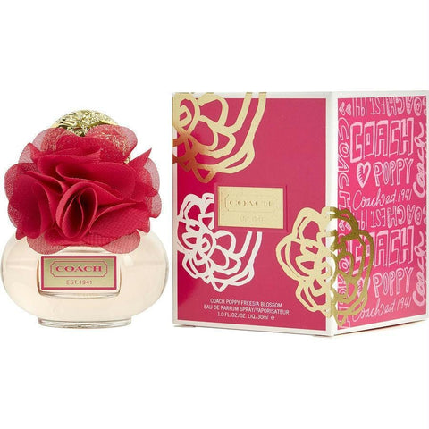 Coach Poppy Freesia Blossom By Coach Eau De Parfum Spray 1 Oz - AuFreshScents.Com
