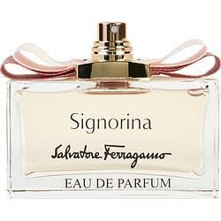 Buy Signorina By Salvatore Ferragamo Eau De Parfum Spray 3.4 Oz *tester at AuFreshScents.com.com