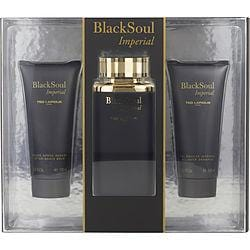 Ted Lapidus Gift Set Black Soul Imperial By Ted Lapidus