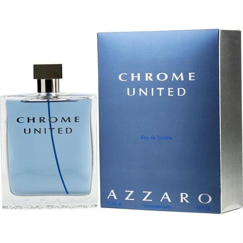 Chrome United By Azzaro Edt Spray 6.8 Oz - AuFreshScents.Com