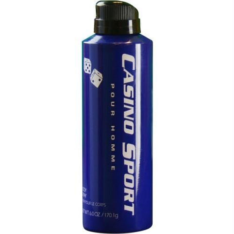 Buy Casino Sport By Casino Parfums Body Spray 6 Oz at AuFreshScents.com.com