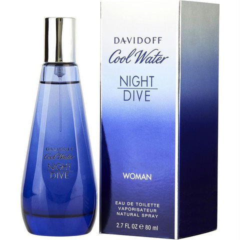 Cool Water Night Dive By Davidoff Edt Spray 2.7 Oz - AuFreshScents.Com