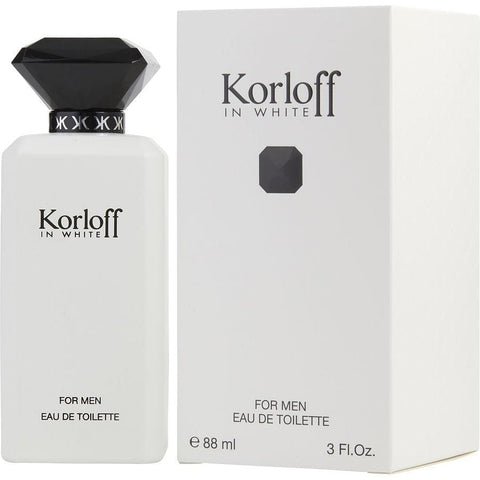 Buy Korloff In White By Korloff Edt Spray 3 Oz at AuFreshScents.com.com