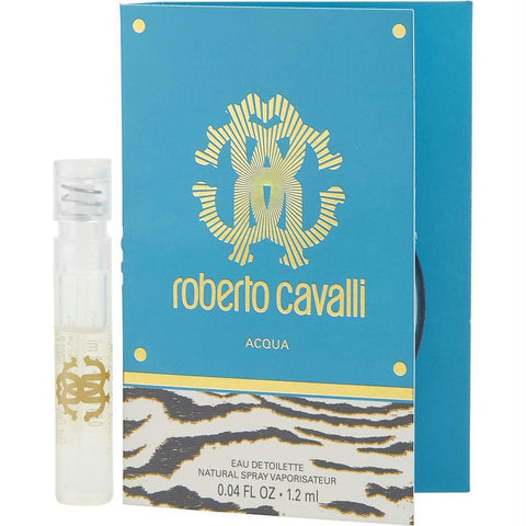 Roberto Cavalli Acqua By Roberto Cavalli Edt Spray Vial On Card - AuFreshScents.Com