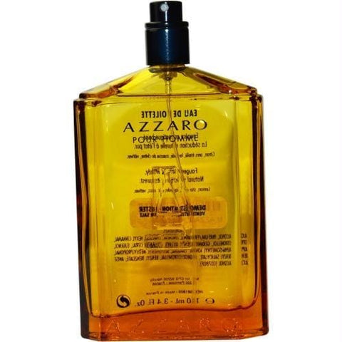 Azzaro By Azzaro Edt Spray Refillable 3.4 Oz *tester - AuFreshScents.Com