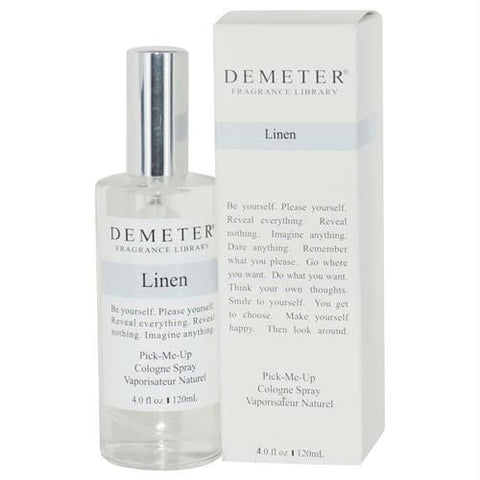 Demeter By Demeter Linen Cologne Spray 4 Oz - AuFreshScents.Com