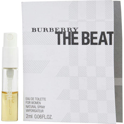 Buy Burberry The Beat By Burberry Edt Spray Vial On Card at AuFreshScents.com.com