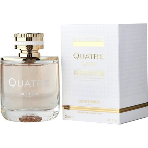 Boucheron Quatre By Boucheron Eau De Parfum Spray 3.3 Oz - AuFreshScents.Com