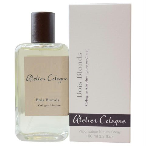 Atelier Cologne By Atelier Cologne Bois Blonds Cologne Absolue Pure Perfume 3.3 Oz With Removable Spray Pump - AuFreshScents.Com