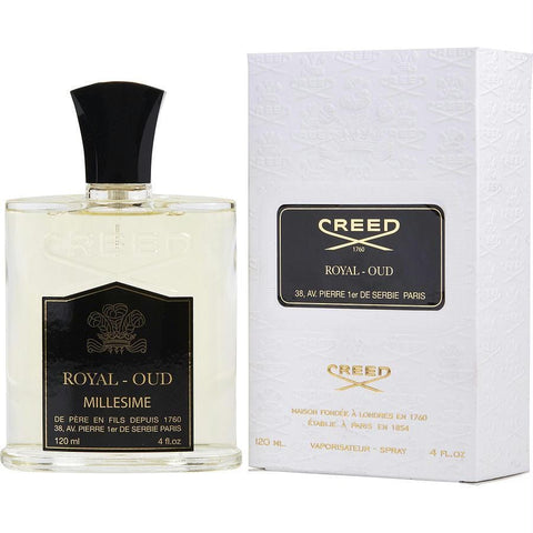 Creed Royal Oud By Creed Eau De Parfum Spray 4 Oz - AuFreshScents.Com