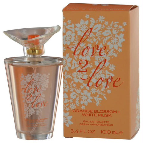 Buy Love 2 Love By Love 2 Love Orange Blossom & White Musk Edt Spray 3.4 Oz at AuFreshScents.com.com