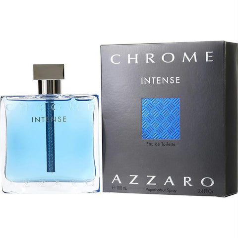 Chrome Intense By Azzaro Edt Spray 3.4 Oz - AuFreshScents.Com