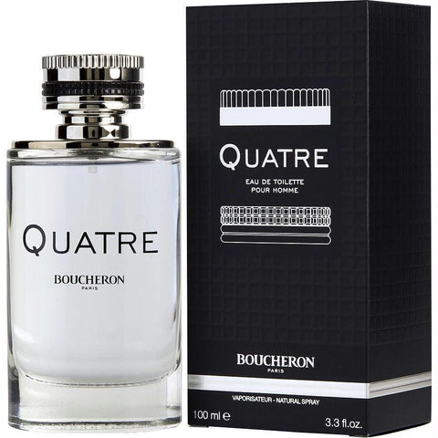 Boucheron Quatre By Boucheron Edt Spray 3.3 Oz - AuFreshScents.Com