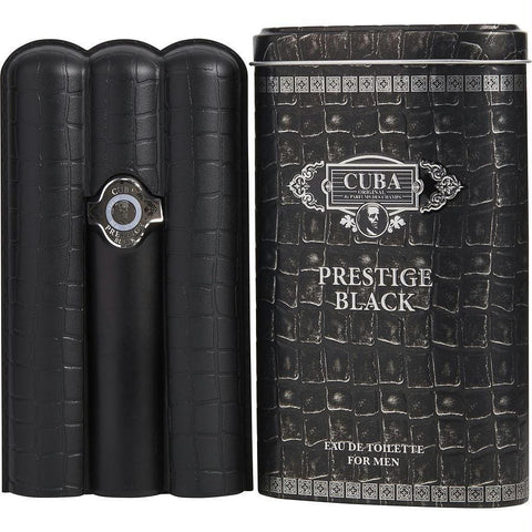Cuba Prestige Black By Cuba Edt Spray 3 Oz - AuFreshScents.Com