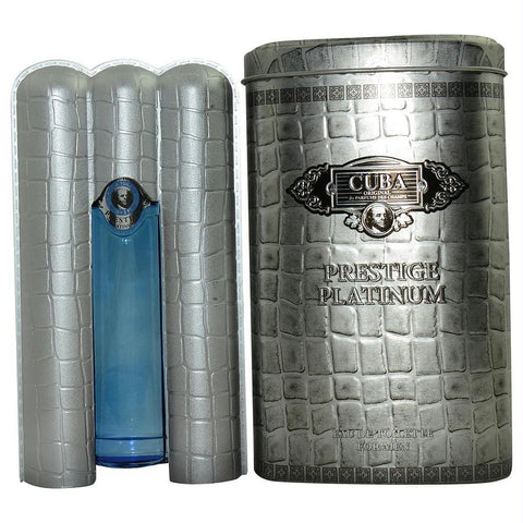 Cuba Prestige Platinum By Cuba Edt Spray 3 Oz - AuFreshScents.Com