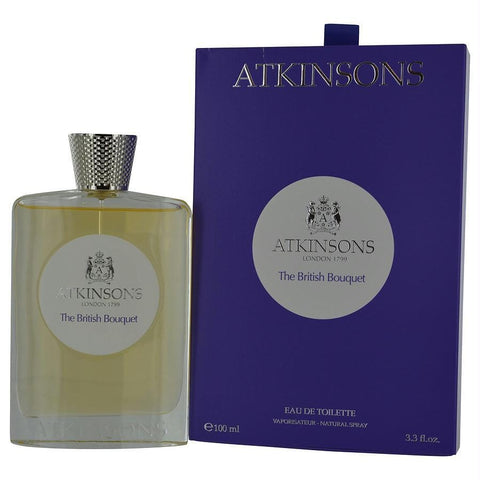 Atkinsons The British Bouquet By Atkinsons Edt Spray 3.3 Oz - AuFreshScents.Com