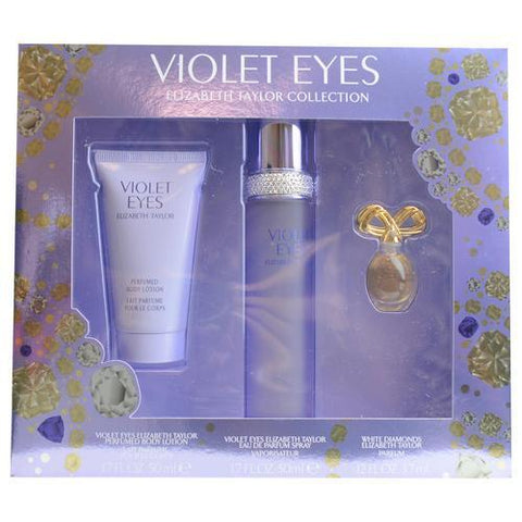 Elizabeth Taylor Gift Set Violet Eyes By Elizabeth Taylor - AuFreshScents.Com