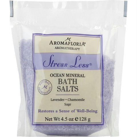 Aromafloria Bath Salt Packet 4.5 Oz Blend Of Lavender, Chamomile, And Sage By Aromafloria - AuFreshScents.Com