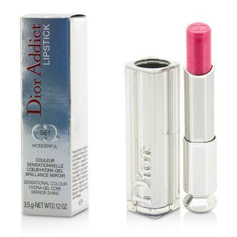 Christian Dior Dior Addict Hydra Gel Core Mirror Shine Lipstick - #561 Wonderful --3.5g-0.12oz By Christian Dior - AuFreshScents.Com