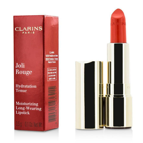 Clarins Joli Rouge (long Wearing Moisturizing Lipstick) - # 741 Red Orange --3.5g-0.1oz By Clarins - AuFreshScents.Com