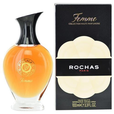 Buy Femme Rochas By Rochas Edt Spray 3.4 Oz (2013 Edition Collection Haute Packaging) at AuFreshScents.com.com