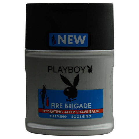 Playboy Fire Brigade By Playboy Hydrating Aftershave Balm 3.4 Oz - AuFreshScents.Com