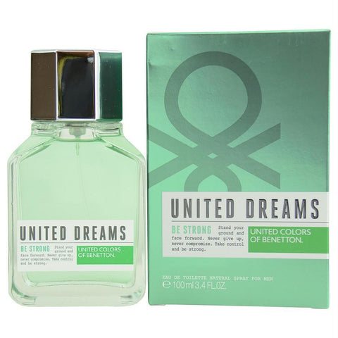 Benetton United Dreams Be Strong By Benetton Edt Spray 3.4 Oz - AuFreshScents.Com