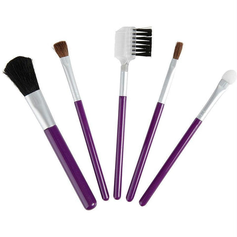Exceptional Parfums Set-5 Piece Travel Makeup Brush Set By Exceptional Parfums - AuFreshScents.Com
