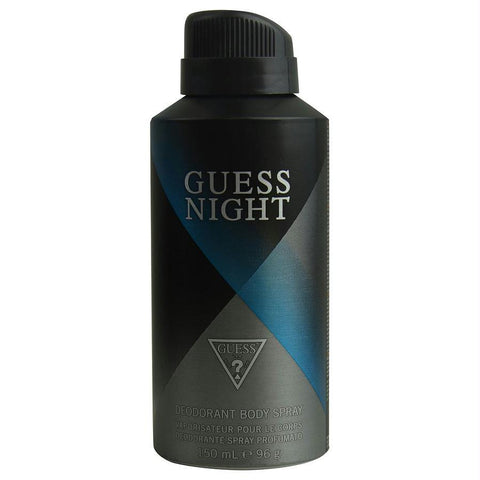 Guess Night By Guess Deodorant Body Spray 5 Oz - AuFreshScents.Com