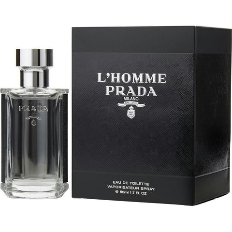 Prada L'homme By Prada Edt Spray 1.7 Oz - AuFreshScents.Com