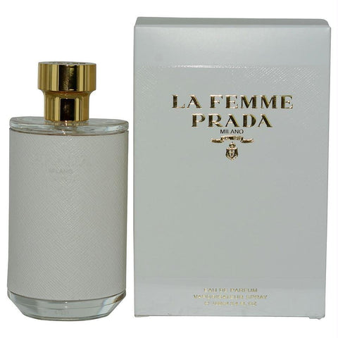 Prada La Femme By Prada Eau De Parfum Spray 3.4 Oz - AuFreshScents.Com