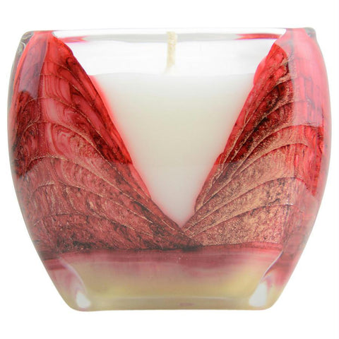Buy Mistletoe Red Cascade Candle By at AuFreshScents.com.com