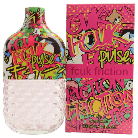 Fcuk Friction Pulse By French Connection Eau De Parfum Spray 3.4 Oz - AuFreshScents.Com