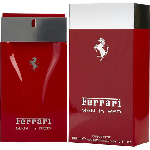 Ferrari Man In Red By Ferrari Edt Spray 3.3 Oz - AuFreshScents.Com