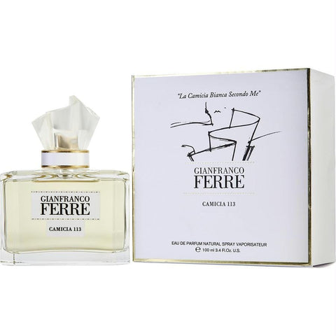 Gianfranco Ferre Camicia 113 By Gianfranco Ferre Eau De Parfum Spray 3.4 Oz - AuFreshScents.Com