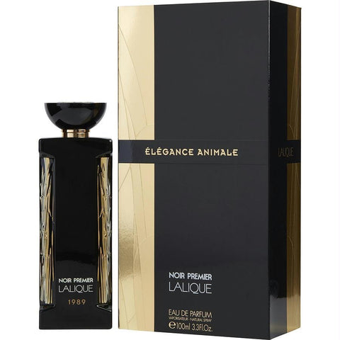 Lalique Noir Premier Elegance Animale 1989 By Lalique Eau De Parfum Spray 3.3 Oz - AuFreshScents.Com