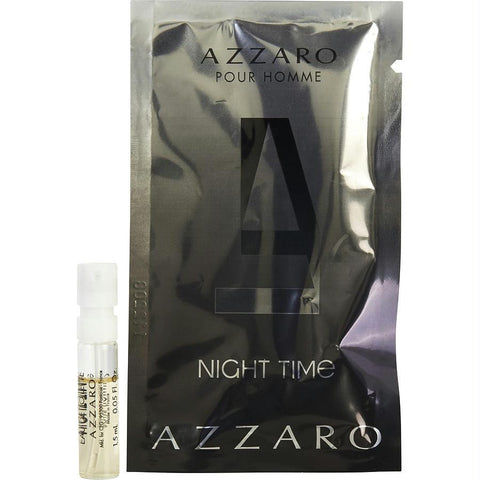 Azzaro Night Time By Azzaro Edt Spray Vial - AuFreshScents.Com